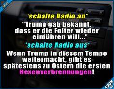 Kann ja nicht mehr lange dauern x.x  Sprüche  #Nachrichten #1jux #jux #sowahr #Jodel #Trump #Präsident #Hexen #Hexenverbrennung #Folter #Foltermethode