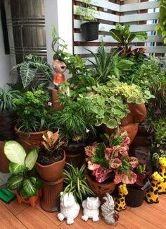 Apartment garden vertical porches 31 ideas for 2019 Room With Plants, House Plants Decor, Patio Plants, Cool Plants, Plant Decor, Potted Plants, House With Balcony, Small Balcony Garden, Small Balcony Decor