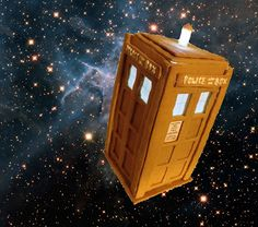 Domestic Sluttery: How to make your own Gingerbread TARDIS