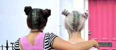 #Glitterhair La última tendencia en peinados para fiesta. ¿Te gusta? ¡Te lo hacemos, pide información en nuestros salones de #Bilbao o #Barakaldo. Glitter Hair, Bilbao, Dreadlocks, Hair Styles, Beauty, Party Hairstyle, Latest Trends, Lounges, Style