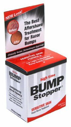 High Time Bump Stopper Sensitive Skin .5 oz. Treatment (3-Pack) with Free Nail File by Bump Patrol. $13.99