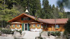 Die bewirtschaftete Wanderhütte Sattelei in Baiersbronn im Schwarzald