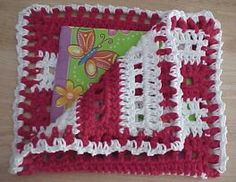 NAPKIN COSY Crochet Pattern - Free Crochet Pattern Courtesy of Crochetnmore.com