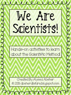 This product includes all you need to start your science classroom off on the right foot!! Included in this product:*The Scientific Method template -…