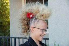 crazy hair day!  crazy talented!!  click through to see more pics!!  amazing!!!