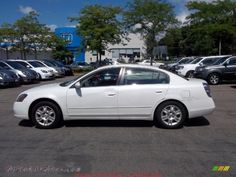 nice white nissan altima 2005 car images hd 2005 Nissan Altima 25 S in Satin White Pearl   173384 Autos of