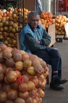 fruit seller, Asuncion, Paraguay