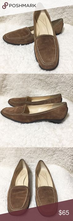 Kate Spade Suede Loafers Very good used condition. They are a 7.5 Narrow. kate spade Shoes Flats & Loafers