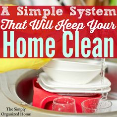 Stop overwhelming yourself and keep things simple You don't need to do it all. You can have a clean home as long as you follow these 6 simple daily routines.