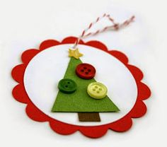 I love handmade Christmas ornaments and tags. here is a peak at some of our designs we created for you this year. all parts are found a. Christmas Gift Wrapping, All Things Christmas, Handmade Christmas, Christmas Holidays, Christmas Decorations, Christmas Ornaments, Prim Christmas, Thanksgiving Holiday, Father Christmas