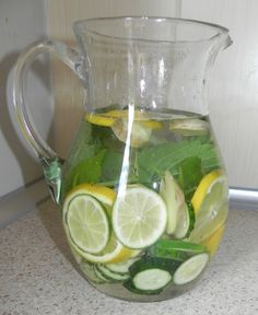Fat Burning Drinks, Healthy Diet Recipes, Ayurveda, Detox, Grilling, Health Fitness, Good Things, Essen, Diet Recipes