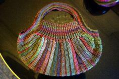 crochet japanese bag