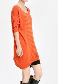 Orange /Camel/ Blue wool women sweater women dress sweater Spring Autumn Winter --SW066
