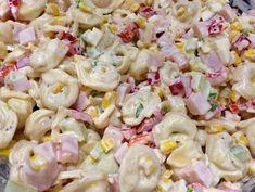 Sałatka z tortellini - Blog z apetytem Macaroni Salad, Pasta Salad, Yami Yami, Tzatziki, Tortellini, Pasta Dishes, Quinoa, Grilling, Recipies