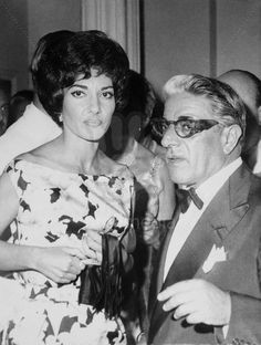 Real Style. Maria Callas & Ari Onassis.  Her Style was her own and I loved it since I was a little girl.  But, I always loved Ari Onassis and his style.  Pure Power.