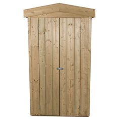 Store-Plus Pressure Treated Apex Tall Garden Store Garden Storage Units, Outdoor Storage Units, Patio Storage, Shed Storage, Built In Storage, Tall Cabinet Storage, Firewood Storage, Hidden Door Hinges, Plastic Sheds