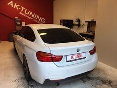 BMW 420D Receives Customized Quantum Software Upgrade