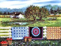 Amish Roadside Market by Diane Phalen