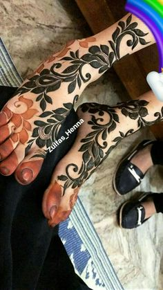 Mehndi Designs Book, Modern Mehndi Designs, Mehndi Design Pictures, Mehndi Designs For Girls, Mehndi Designs For Hands, Tattoo Designs, Leg Mehendi Design, Leg Mehndi, Foot Henna