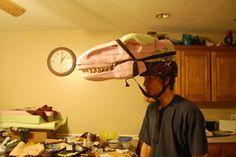 Velociraptor Costume Head by neonrelics