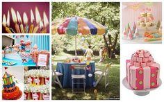 Fun Party Ideas - Plasticware holders, lanterns, boxes