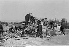 Neergestorte Duitse vliegtuigen te Zestienhoven, Rotterdam (1940-1945)