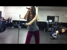"""Victoria Justice dances to """"Beggin' On Your Knees"""""""