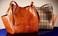 fb3527de912 New season  bags for  AW13 in  leather and Haymarket check from  Burberry