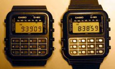casio calculator watch loved this watch one of the few I would wear Cool Things To Buy, Old Things, Nostalgia, Childhood Days, School Memories, I Remember When, Ol Days, Retro Toys, Teenage Years