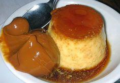 Como hacer el Flan casero con dulce de leche, faicl y muy rico. Receta tradicional de flan de huevo al baño maria con caramelo y acompañado de dulce de leche.