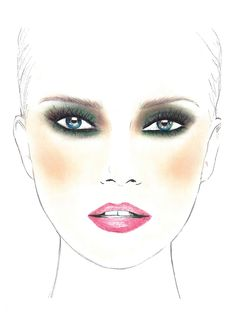 The Signature Butterfly Look: Available in the Makeup Genius App