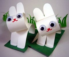 konijntjes van papier