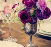 Purple and Pewter #Flowers