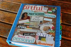 This is great! Michelle Rohr of The Secret OWL Society blog, shares How to Design Your Own Life Binder.
