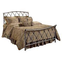 Slaiter Metal Bed