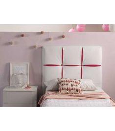 Comprar online Cabecero Tapizado Infantil Juvenil Modelo VERONICA LD Ideas, Bed, Furniture, Home Decor, Model, House Decorations, Upholstered Headboards, Headboards, Handmade Home Decor