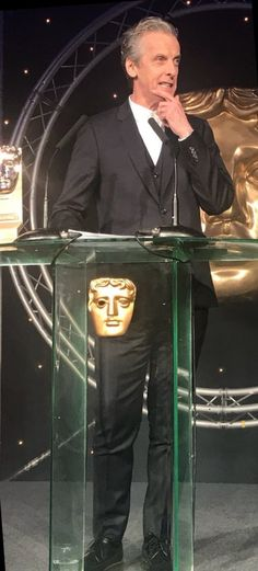 Speech prior to giving Armando his award. Baftas Scotland.