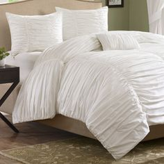 Shop for Madison Park Catalina 4-piece Comforter Set. Get free shipping at Overstock.com - Your Online Fashion Bedding Outlet Store! Get 5% in rewards with Club O!