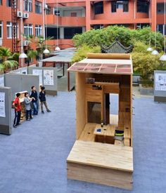 Architecture Student in China Builds 75 Sq. Ft. Tiny House