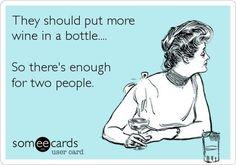 ...wine...