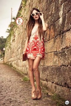 Embroidered Mini Dress | Choies