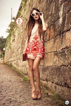 #Embroidered Mini Dress | Choies Adoreness.com
