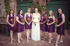 Silver Shoes - What Color Shoes to Wear with Purple Dress for Bridesmaids?…