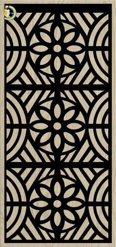 Decorative Slotted Panel 757 Pattern PDF File