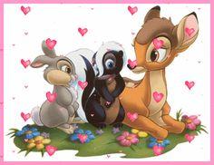 Bambi photo bambi.gif Bambi Disney, Walt Disney, Disney Pixar, Bambi And Thumper, Disney Cartoons, Disney Love, Disney Magic, Disney Art, Disney Wiki