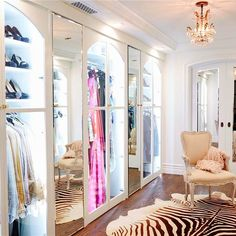 Don't call it a closet. This is a dressing room! What would you expect from an apartment in Beverly Hills?