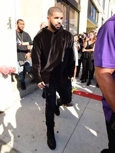 Drake at Serena Williams Spring 2016 Ready-to-Wear