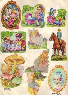 Vintage Images, Scrapbooks, My Childhood, Stickers, Paper Dolls, Moose Art, Card Making, Clip Art, Antiques