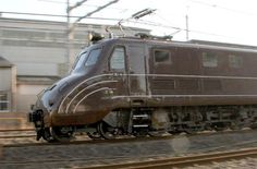 Old Japanese Electric Locomotive