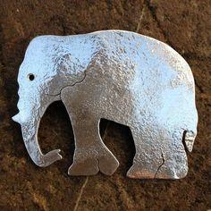 Elephant brooch sterling silver £68.00